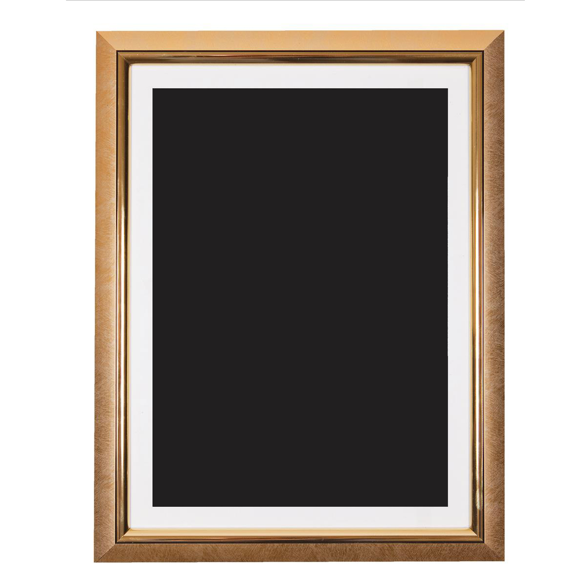 5 Star Facilities Snap De Luxe Certificate Frame Holds Standard A4 Certificates 260x20x347mm Gold