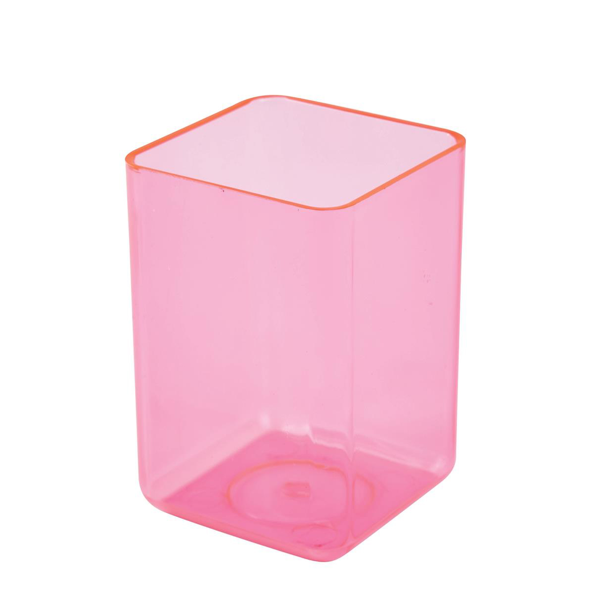 Executive Pen Tidy 1 Compartment Polystyrene Ice Pink