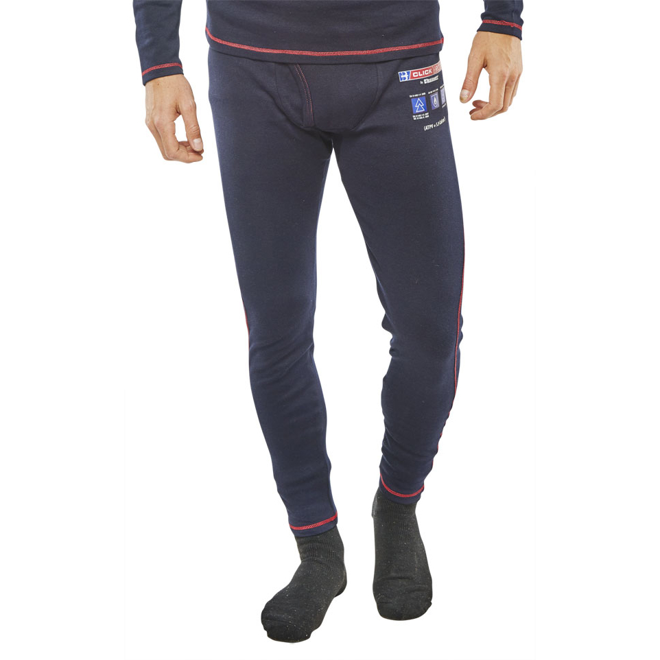 7d833772f7b0 Click Arc Compliant Long John Fire Retardant M Navy Ref CARC24M  Up to 3  Day Leadtime