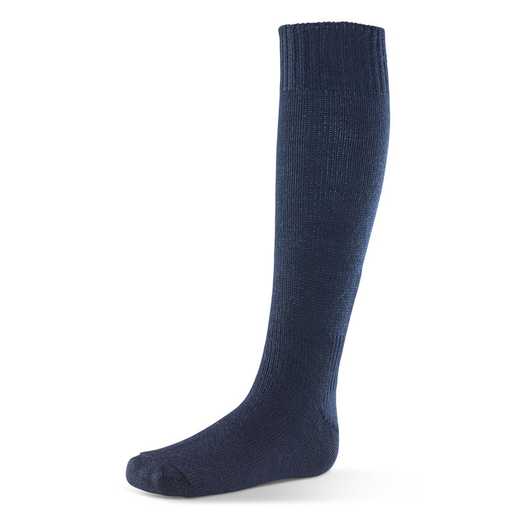Click Workwear Sea Boot Socks Wool/Nylon Navy Blue Size 10.5 Ref SBSN10.5 *Up to 3 Day Leadtime*