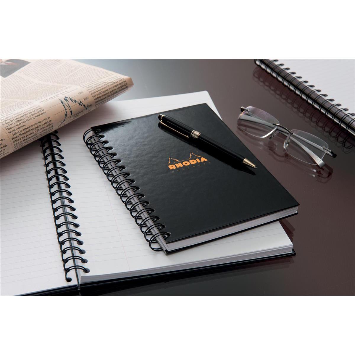 Rhodia A4 W/B Business Book Hardback Pk3