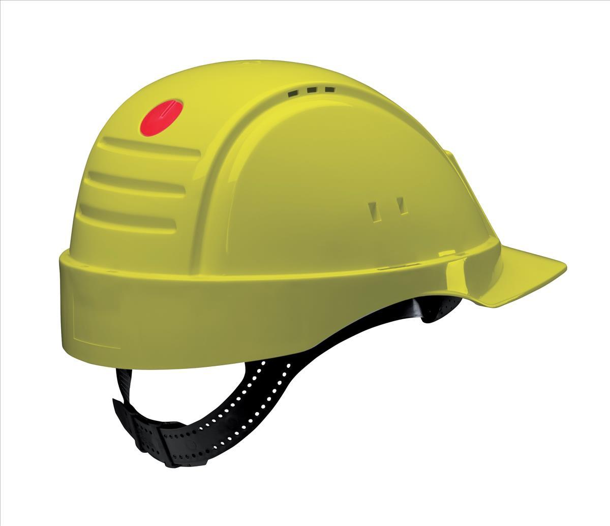 3M Solaris Saf Helmet Yell G2000CUV-GU