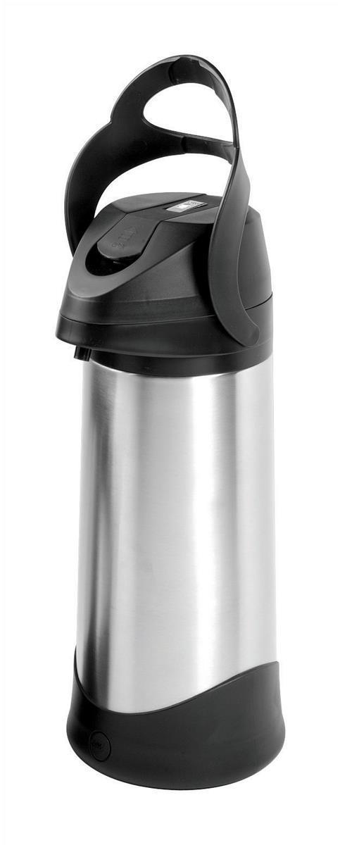 Addis Silver Presto Pump Vacuum Jug 3 Litre (Pack of 1) 500833