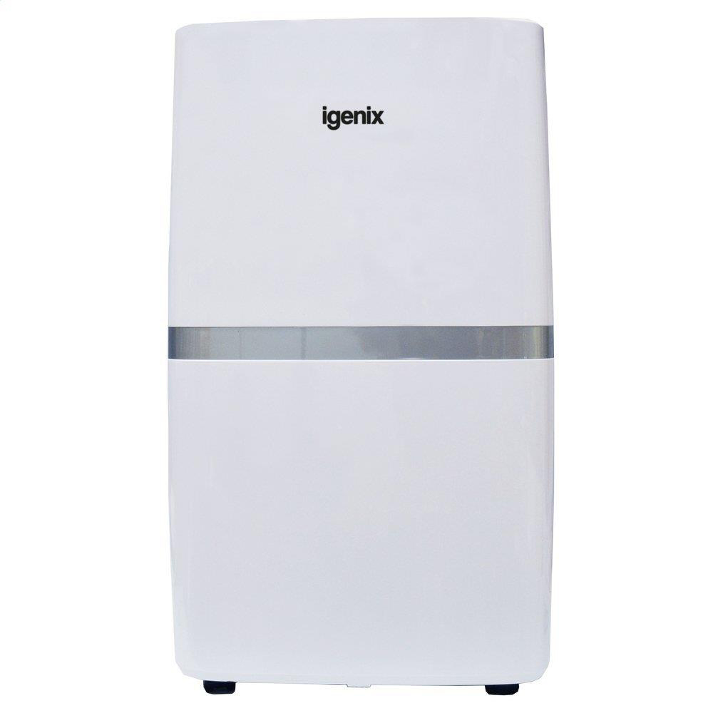 Dehumidifier 5.5 Litre Tank Extracts 20 Litres Daily Up to 24 hours Programmable Timer LCD Display White