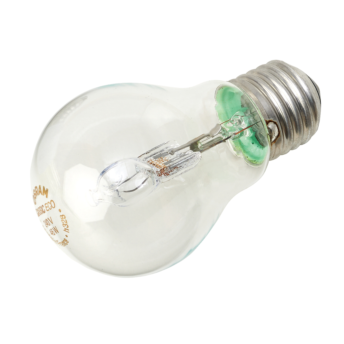 Image for GE Bulb Halogen 42W E27 GLS Screw Fitting Energy Saving Dimmable Clear Ref 79422