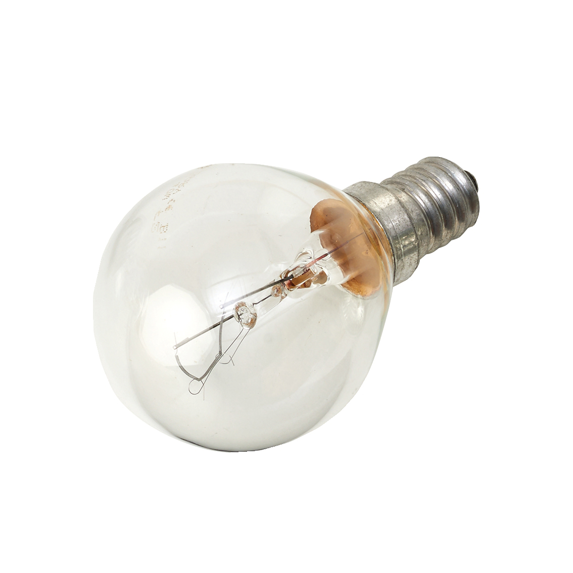 Image for Light Bulb E14 SES Golf Ball Screw Fitting 40/42W Clear