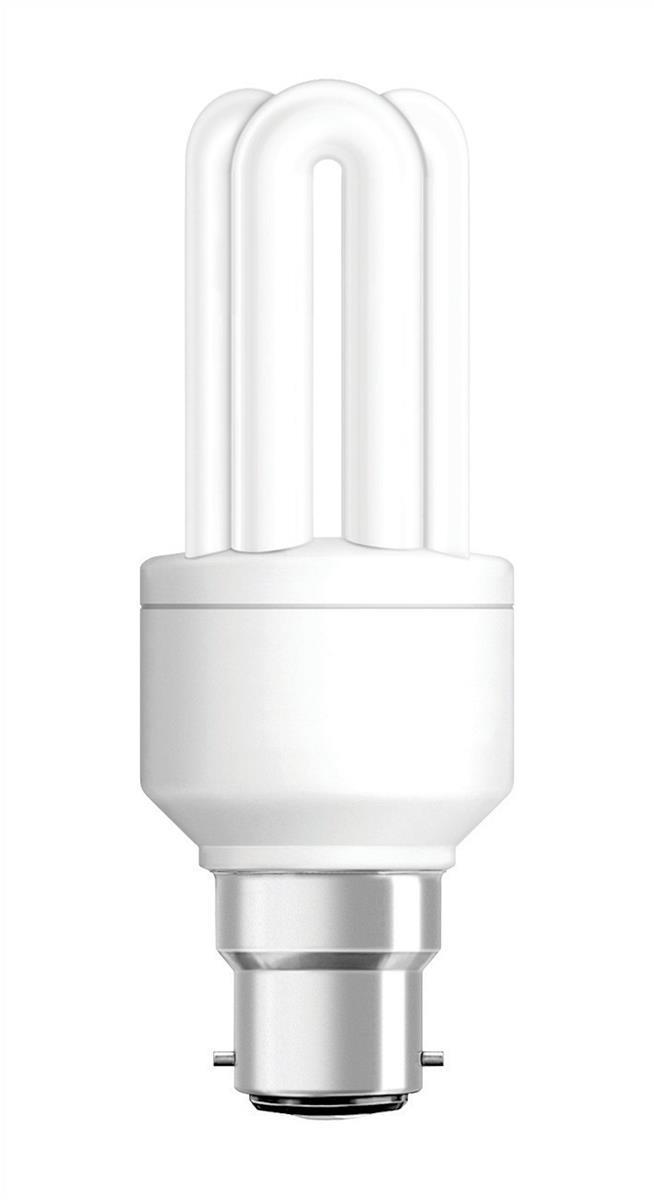 Status Low Energy Light Bulb CFL 11w Bayonet cap