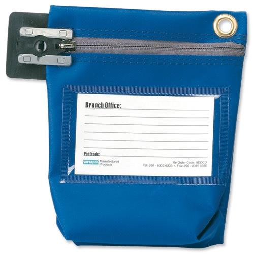 Versapak Cash Bag Blue CCB0