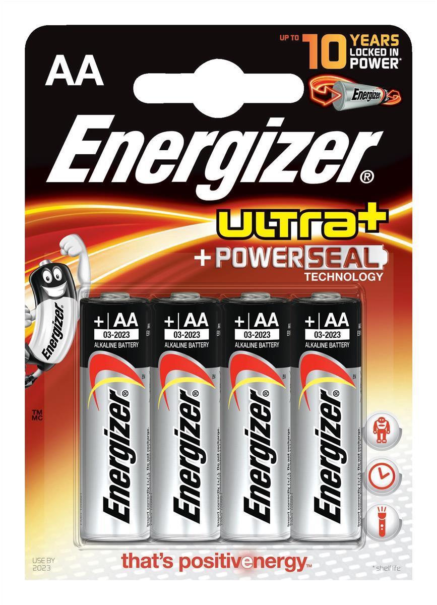 Energizer Ultra Plus AA Pk4 637463