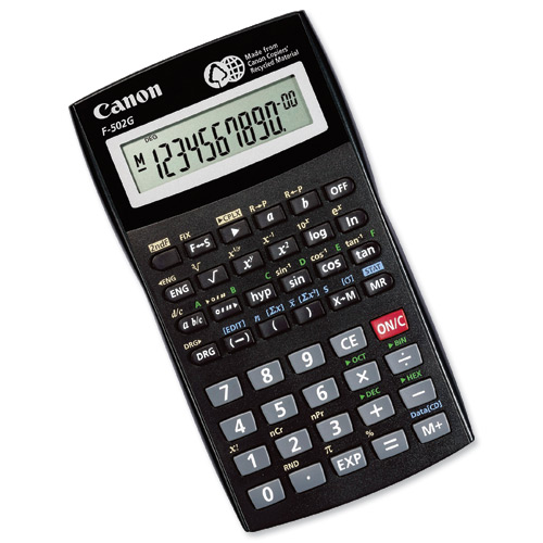 Image for )Canon 3497B006 F502G Calculator