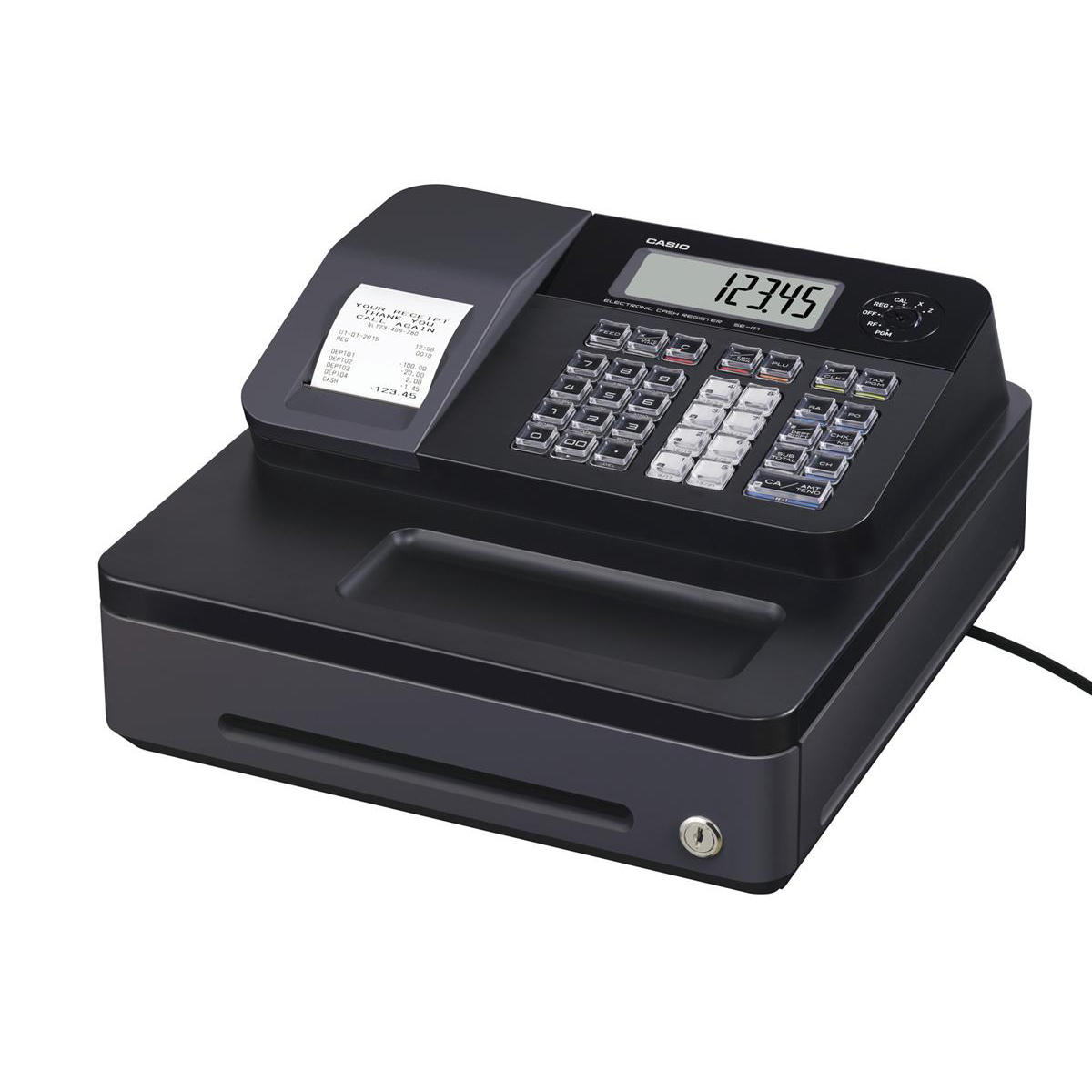 Image for Casio Cash Register 7 Segment x 8 Digit 12 Plus 24 Dept Ref SE-G1SD