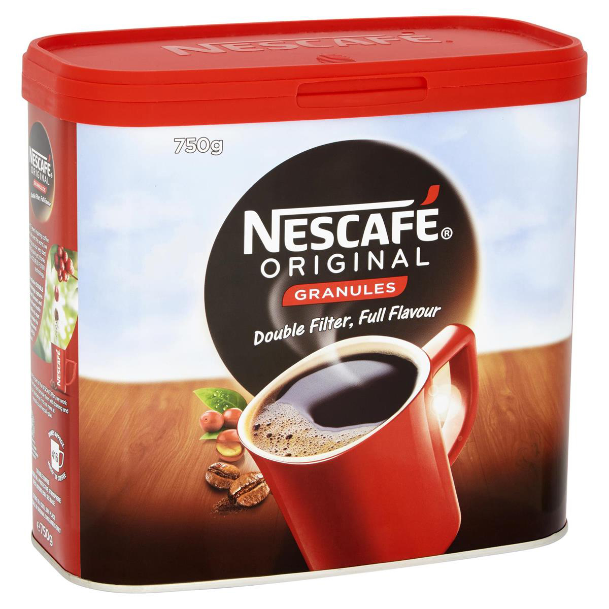 Nescafe Original Instant Coffee Granules Tin 750g Ref 12079880 [Promotion Price] Apr-Jun 2014