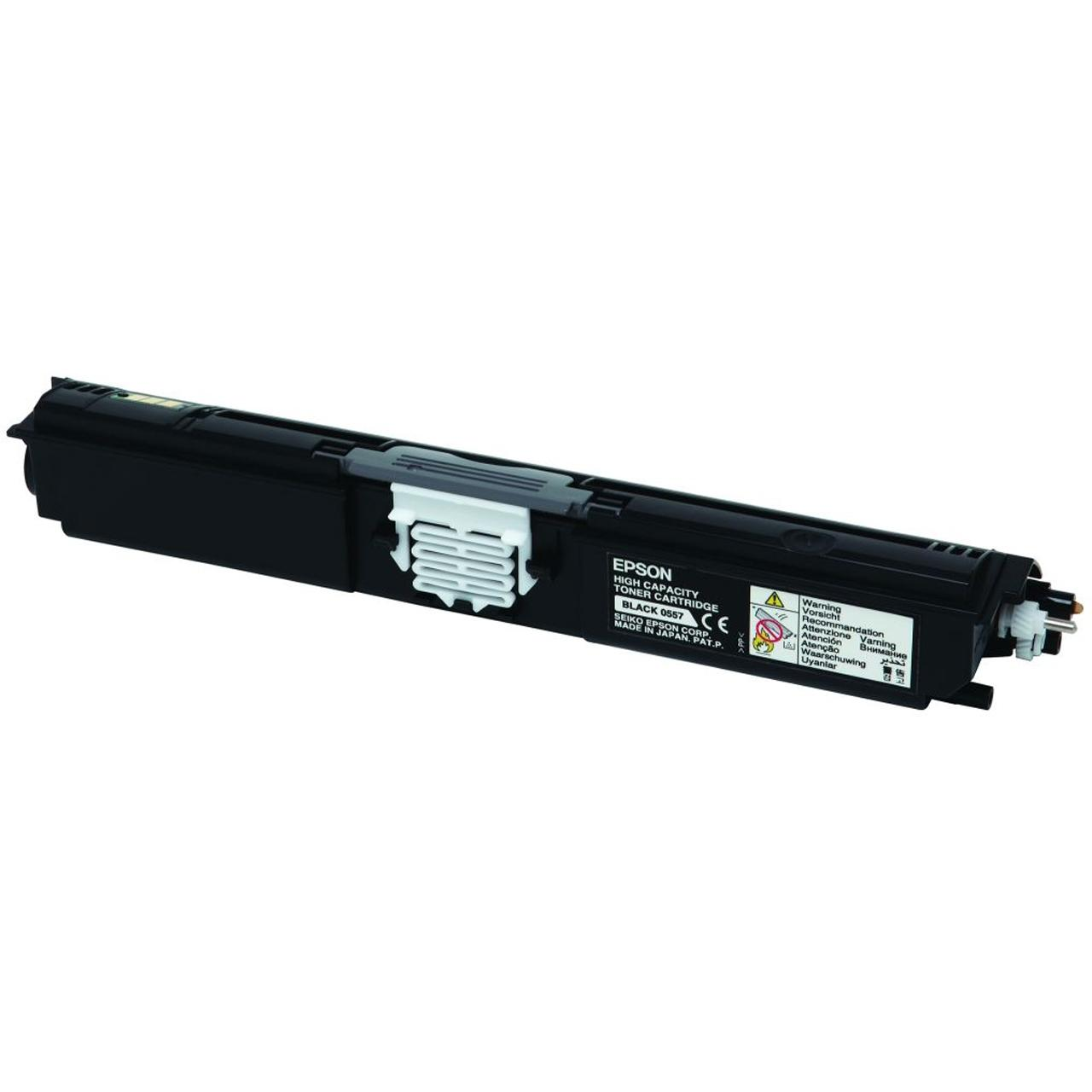 Epson S050557 Laser Toner Cartridge High Yield Page Life 2700pp Black Ref C13S050557