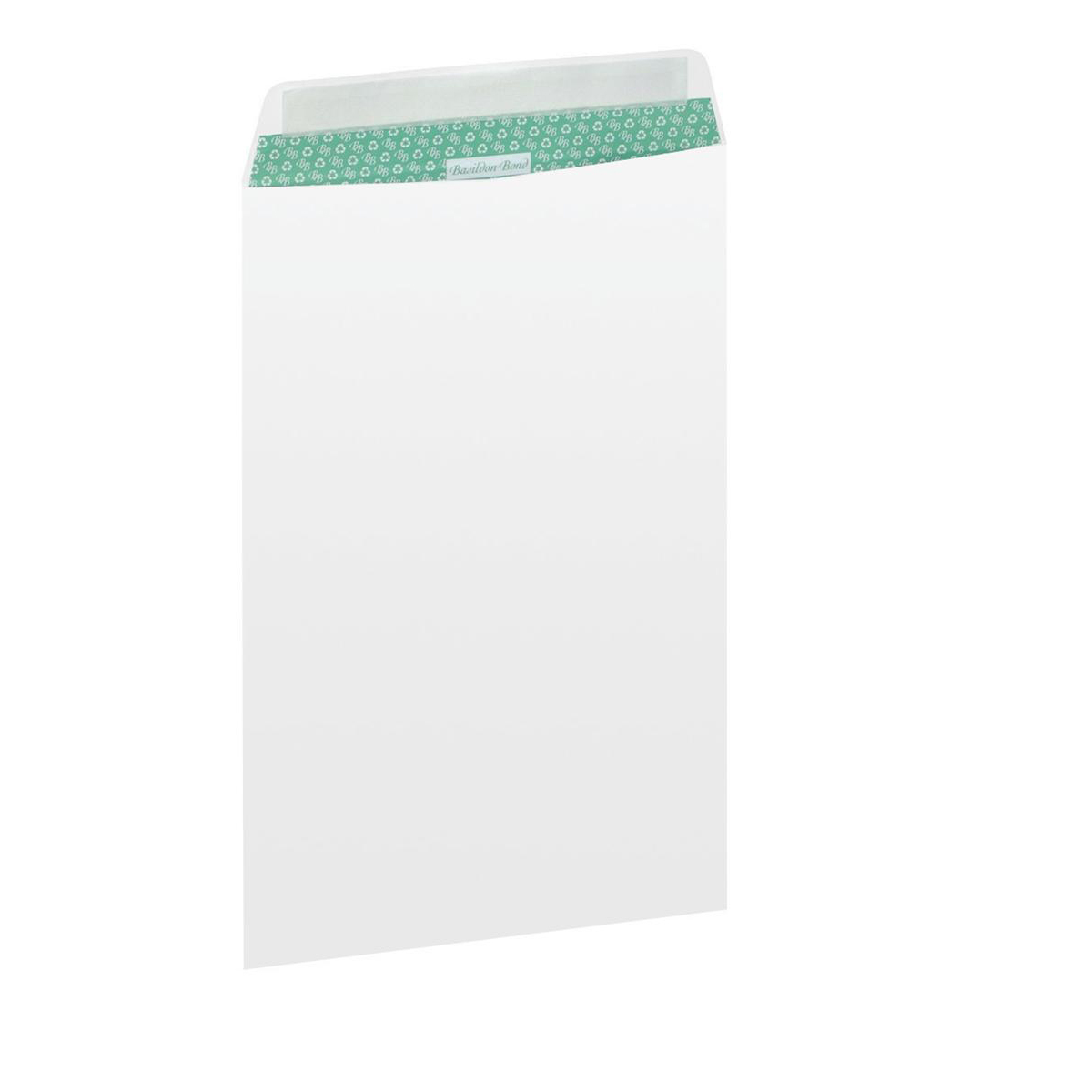 Basildon Bond Envelopes Recycled Pocket Peel and Seal Window 120gsm C4 White Ref B80285 [Pack 50]