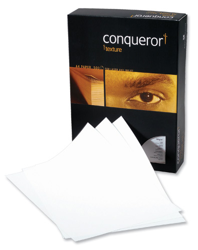Conqueror Prestige Paper Laid Finish Box 100gsm A4 High White Ref CQP0324HWNW [500 Sheets]