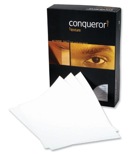 Conqueror Prestige Paper Laid Finish Box 100gsm A4 Vellum Ref CQP0324VENW [500 Sheets]