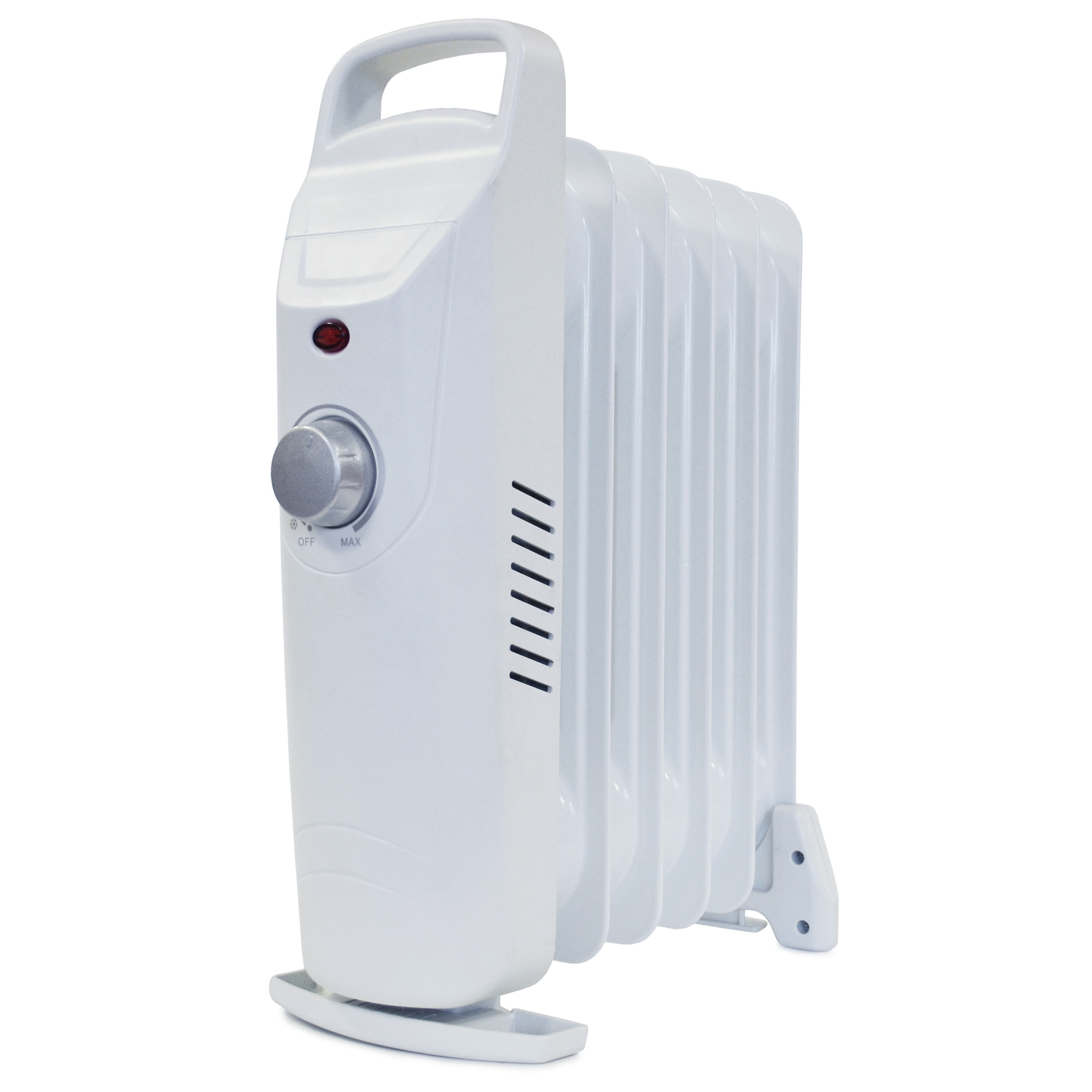 5 Star Facilities Mini 7 Fin Oil Filled Radiator for Up to 5m.sq room 800W