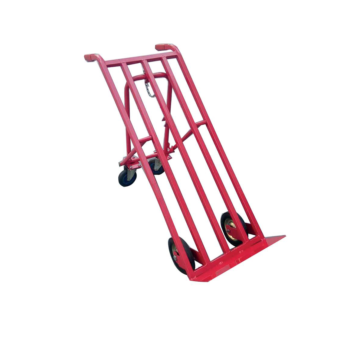 Sack Truck 3 Position Steel Frame Double Rear Castors Capacity 300kg