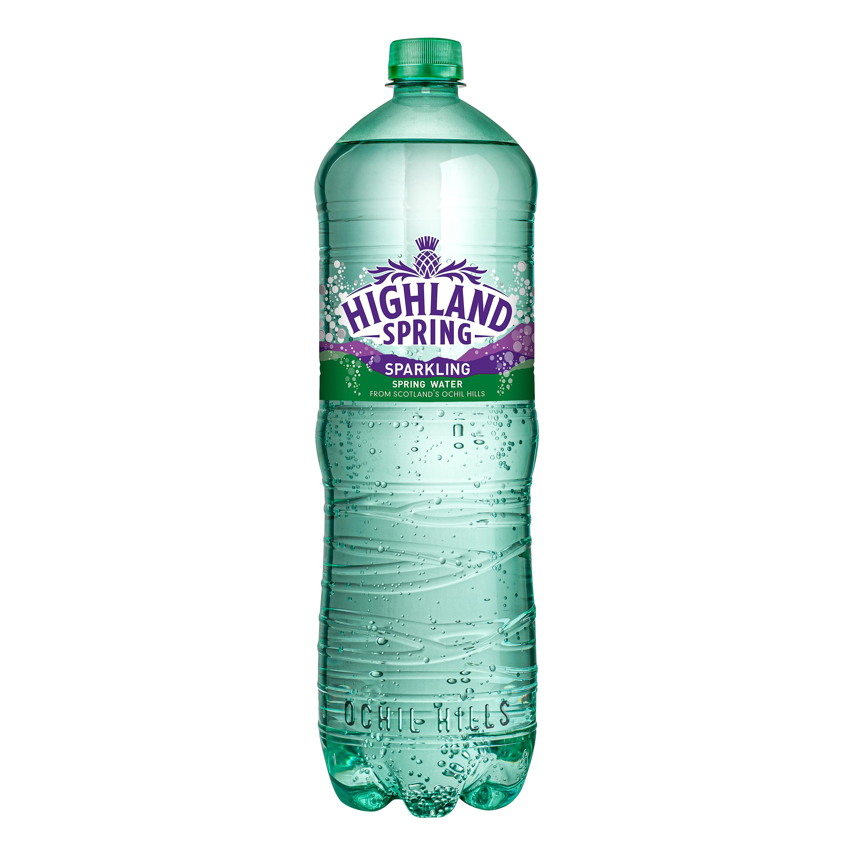 Highland Spring Water Sparkling Bottle Plastic 1.5 Litre Ref SGL21117/88 [Pack 8]