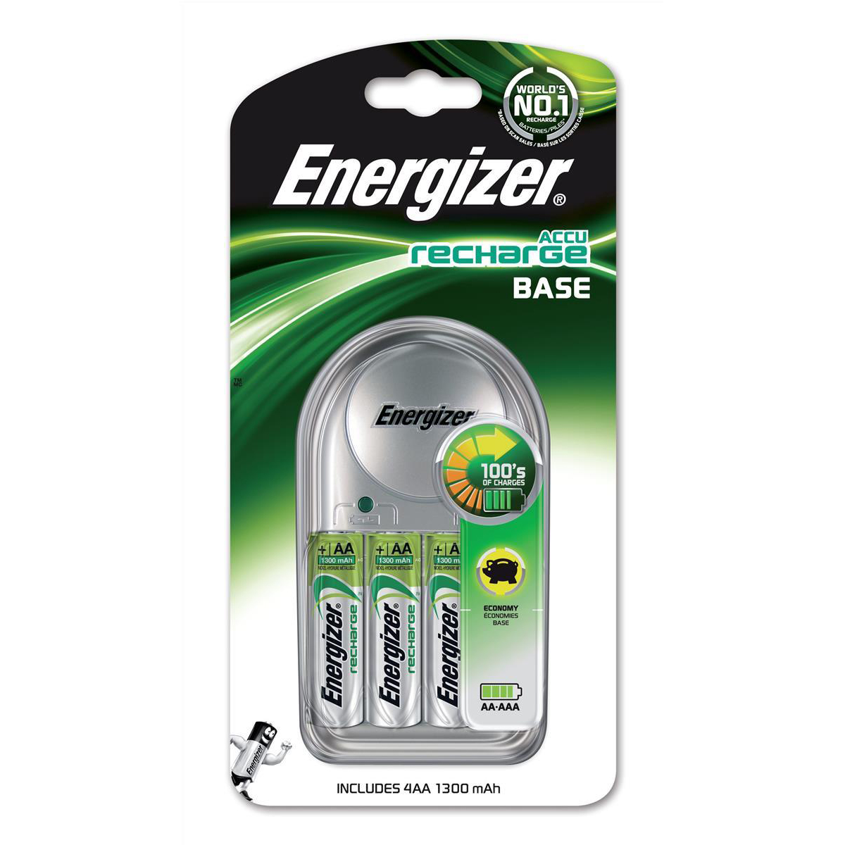 Base Charger 4xAA1300mah E300701600