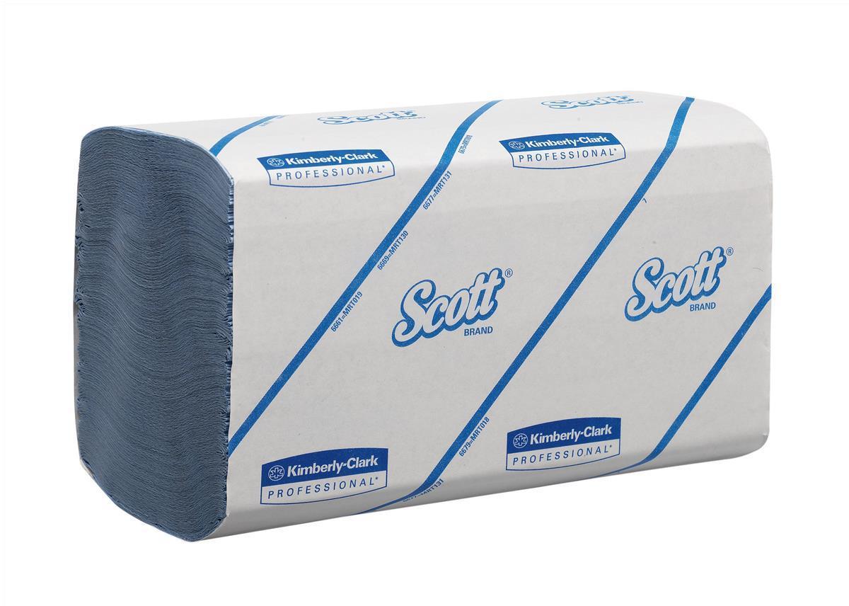 Scott Fld Hand Twls Blue Pk15 6660