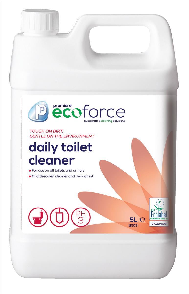 Ecoforce Toilet Cleaner 5 Litre Code 11503