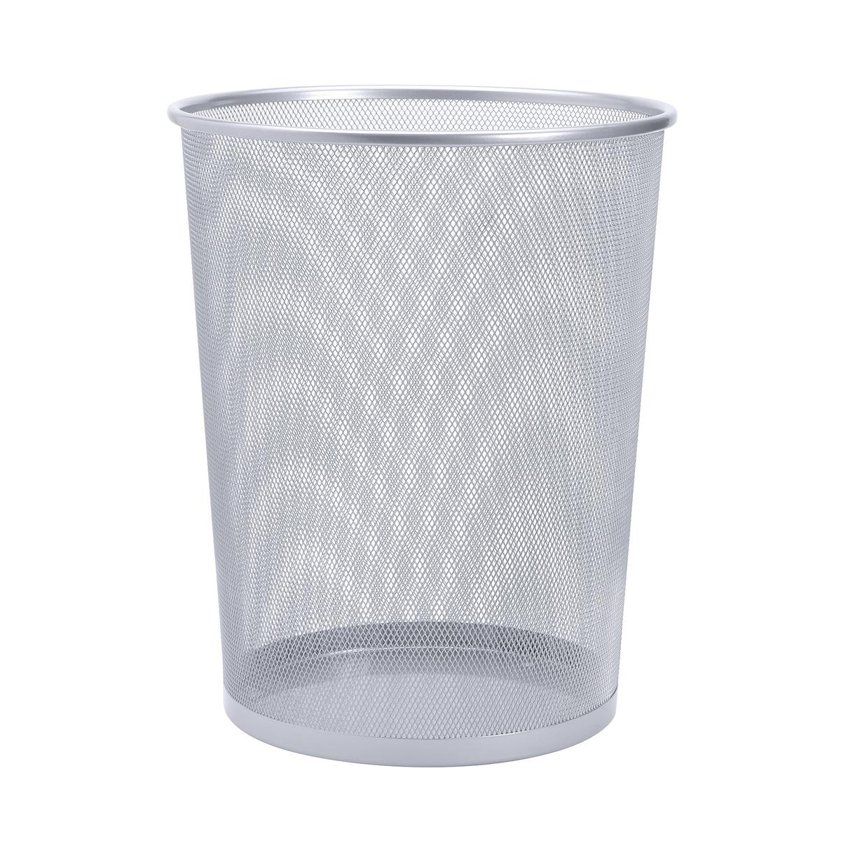 Image for Mesh Waste Bin Silver