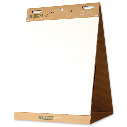 Bi-Office SStick FchartEasel Pad 635x762