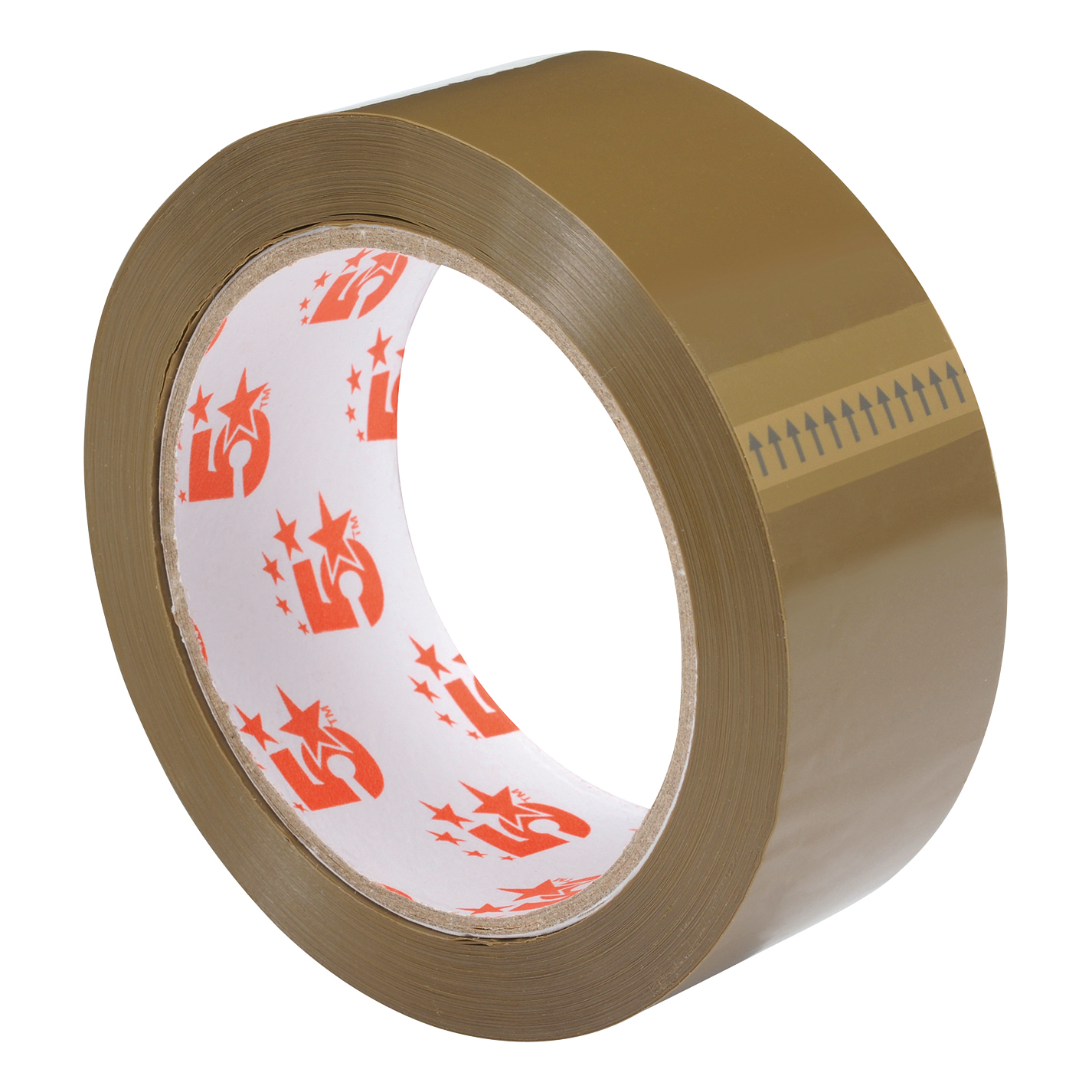 5 Star Office Packaging Tape Polypropylene 38mm x 66m Buff