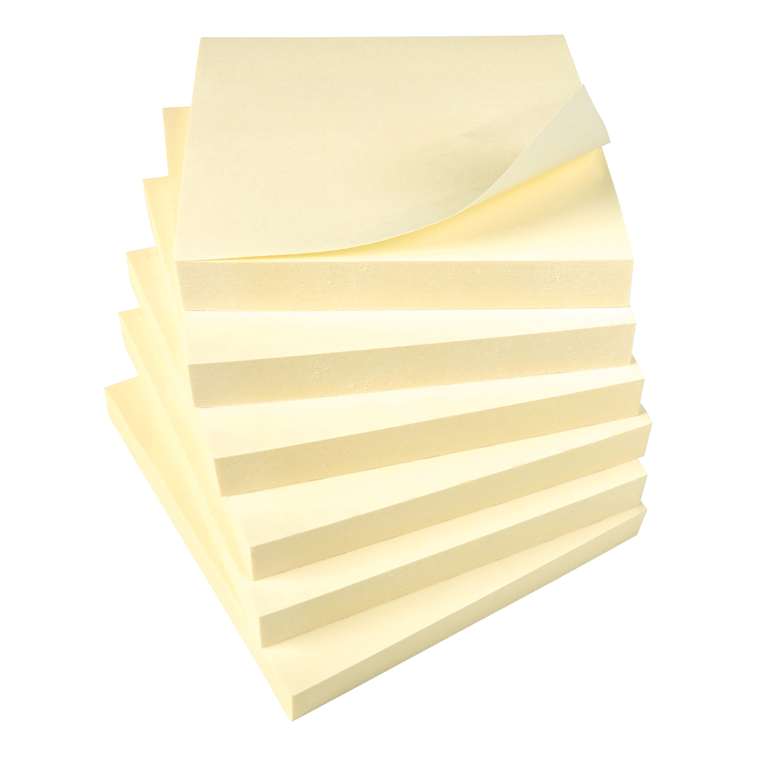 5 Star Office Re-Move Notes Repositionable Pad of 100 Sheets 76x76mm Yellow