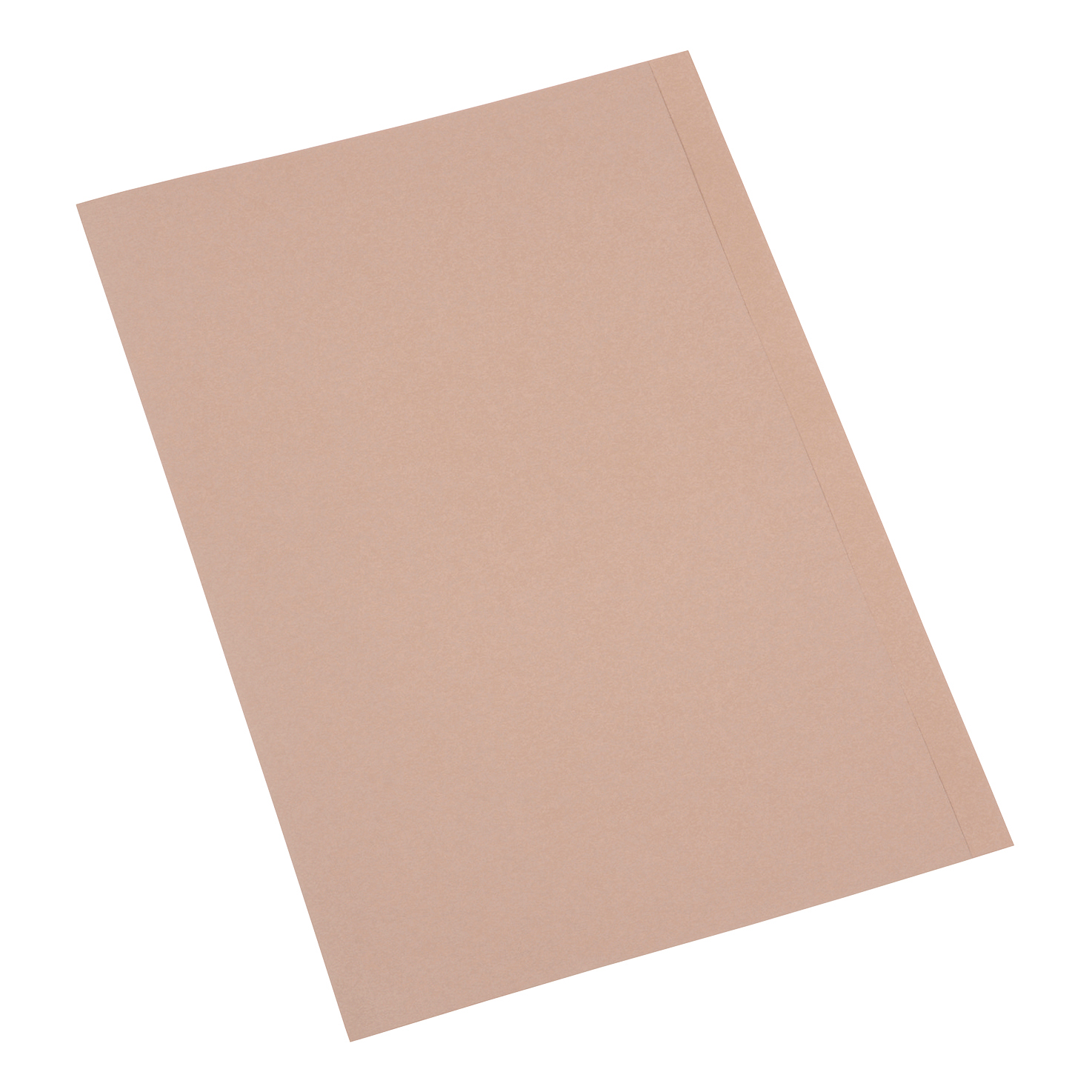 5 Star Premier Square Cut Folder Recycled Pre-punched 250gsm Foolscap Buff