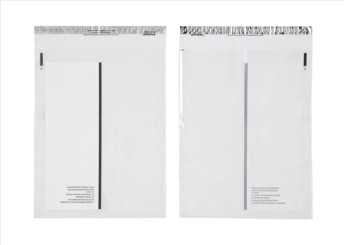 Keepsafe Biodegradable Extra Strong Envelope Clear C5 W165xH240mm Peel & Seal Ref KSV-BIOC1 [Pack 100]