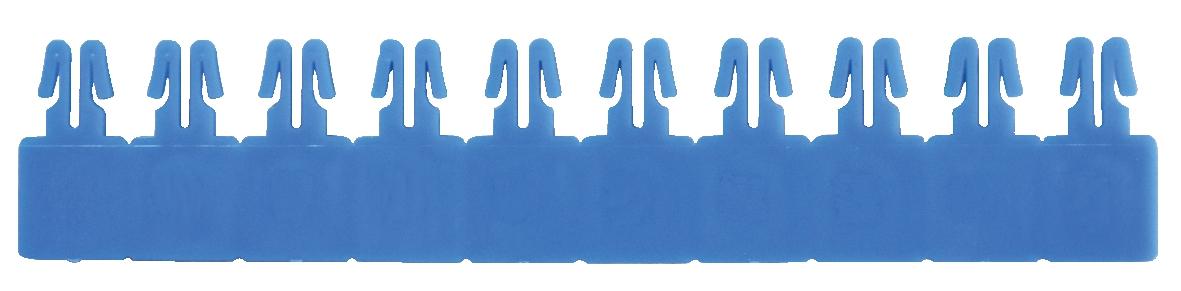 Versapak Plain Blue Arrow Seal Pk1000