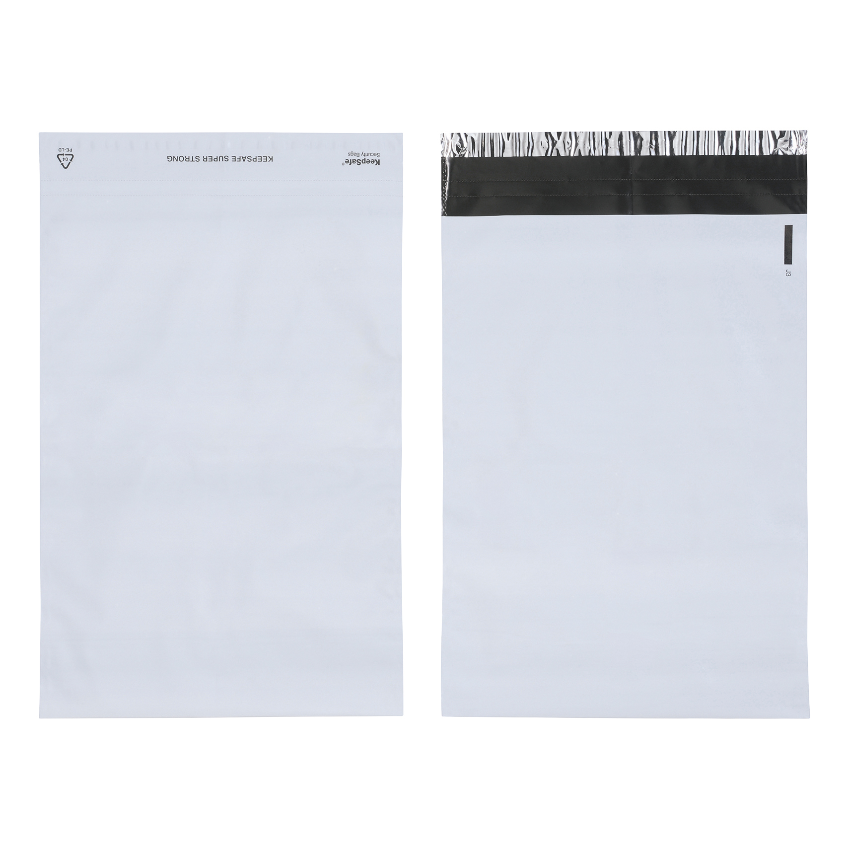 Keepsafe SuperStrong Envelope Polythene Opaque C3 W325xH430mm Peel & Seal Ref KSV-SS3 [Pack 100]