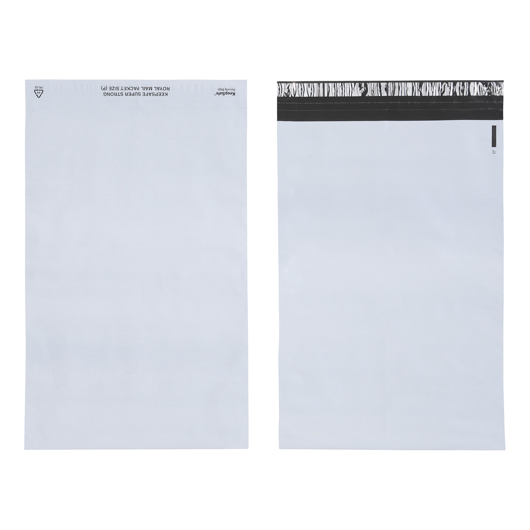 Keepsafe SuperStrong Envelope Polythene Opaque D4 W260xH380mm Peel & Seal Ref KSV-SS4 [Pack 100]