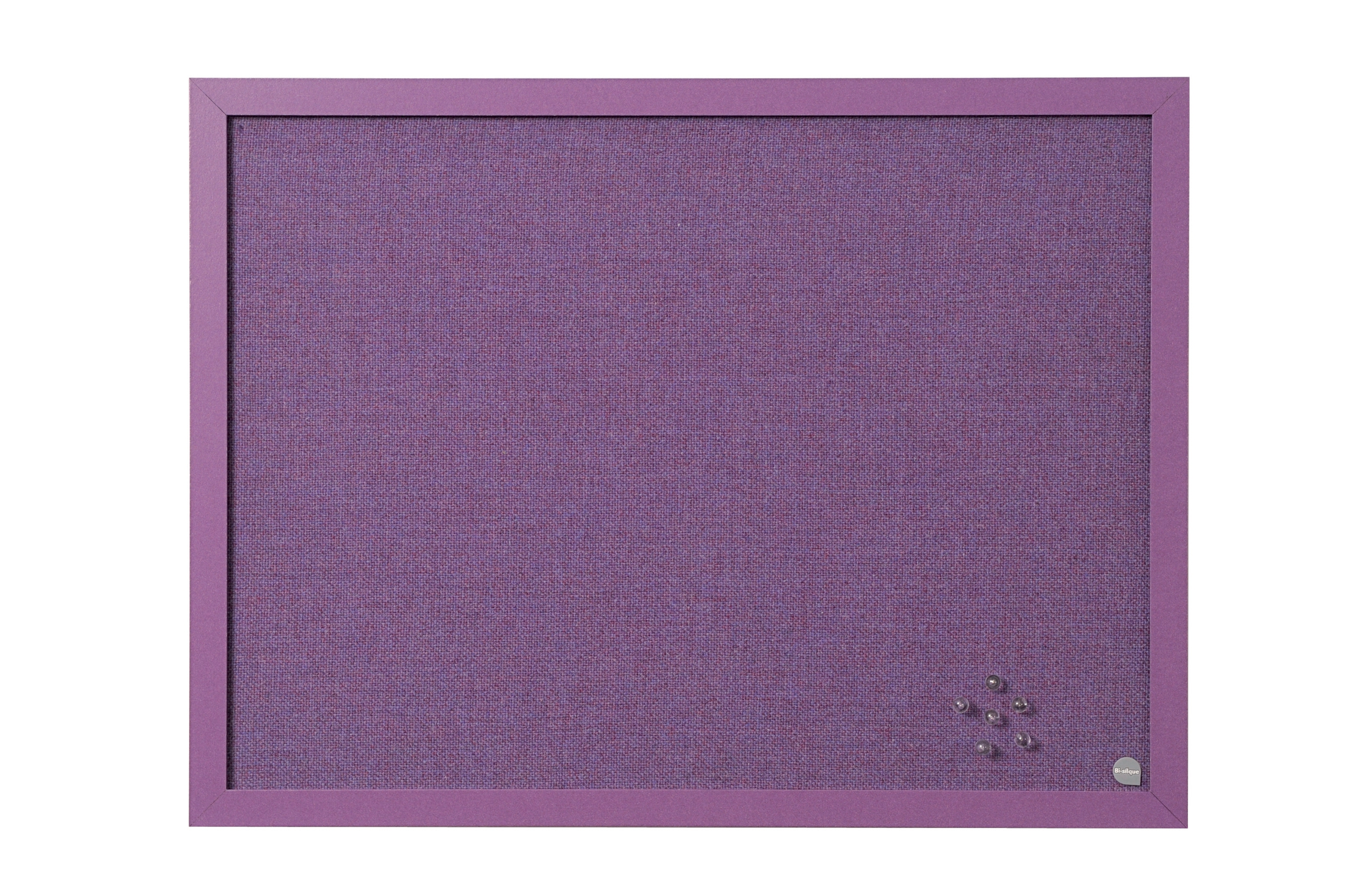 Bi-Silque Notice Board 600x450mm Lavender Code FB0469608