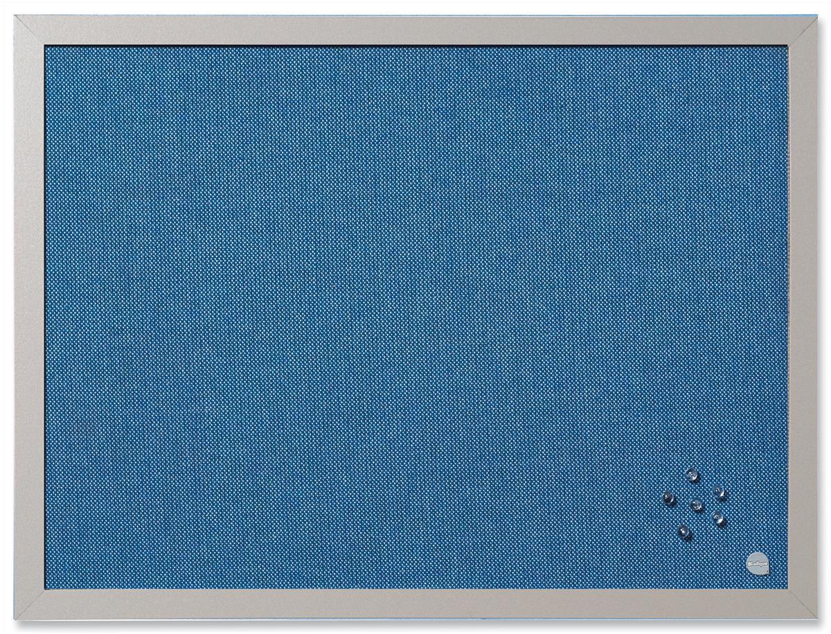 Bi-Silque Notice Board 600x450mm Blue Code FB04130608