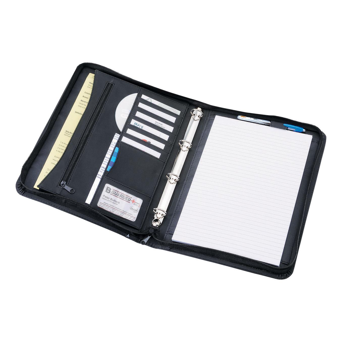 Files  Pockets  Binders