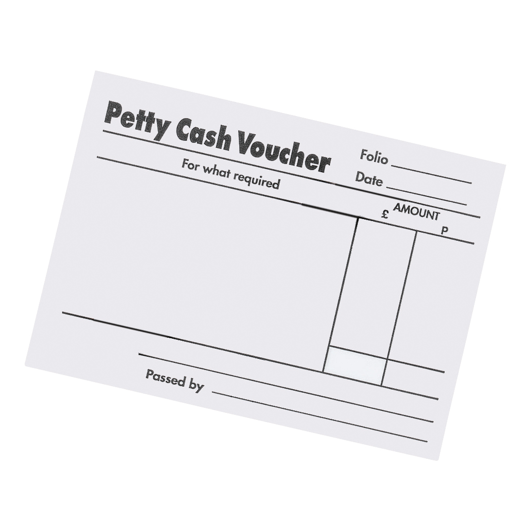 5 Star Office Petty Cash Pad 160 Pages 88x138mm [Pack 5]