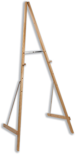 Bi-Office Easel Wooden Adjustable to 4 Heights Code SUP0703-001