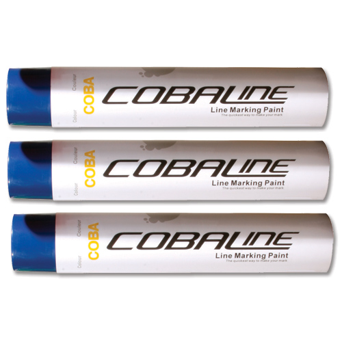 Image for Cobaline Marking Spray CFC-free Fast-dry 750ml Blue Code QLL00002P