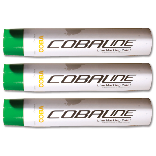 Cobaline Marking Spray CFC-free Fast-dry 750ml Green Code QLL00004P