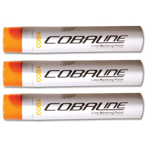 Cobaline Marking Spray CFC-free Fast-dry 750ml Orange Code QLL00017P