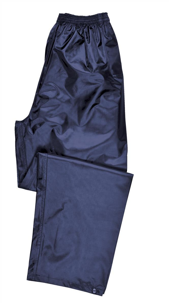 Image for Portwest Atlantic Rain Trousers Side-pockets Polyester Navy Extra Large Code S441NAVYXLGE