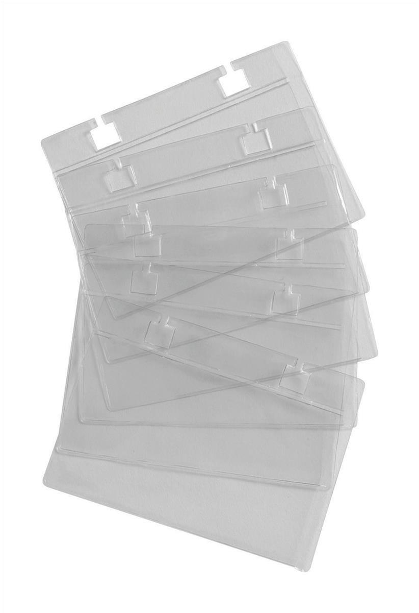 Image for Business Card Sleeves for 105x74mm Refill Cards [Pack 50]