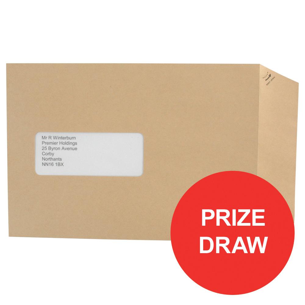 Basildon Bond Envelopes Recycled Pocket Peel and Seal Window 90gsm C5 Manilla Ref E80190 [Pack 500]