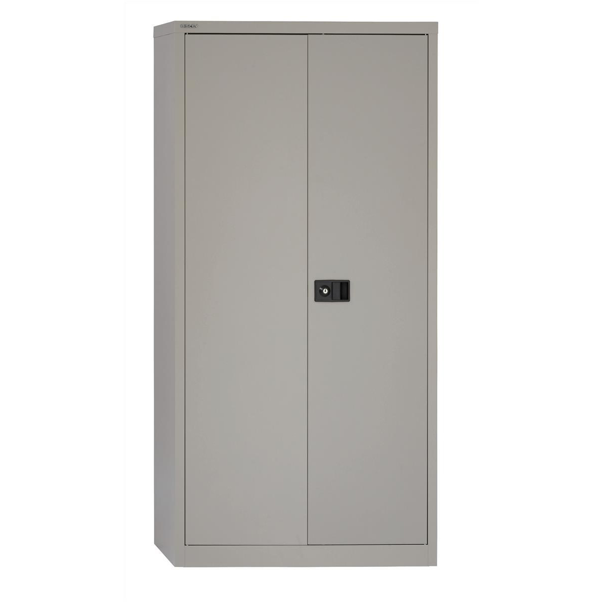 Trexus Two Door Steel Storage Cupboard 914x400x1806mm Grey Ref