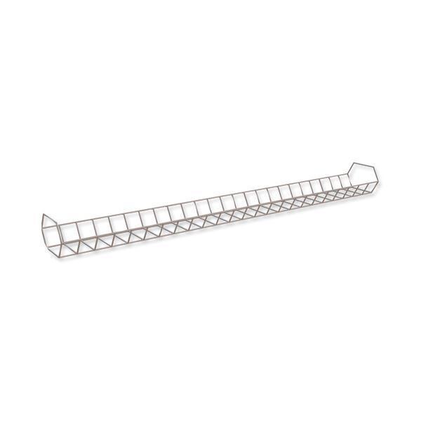 Trexus Cable Management Basket Under-desk 150x1200mm Silver