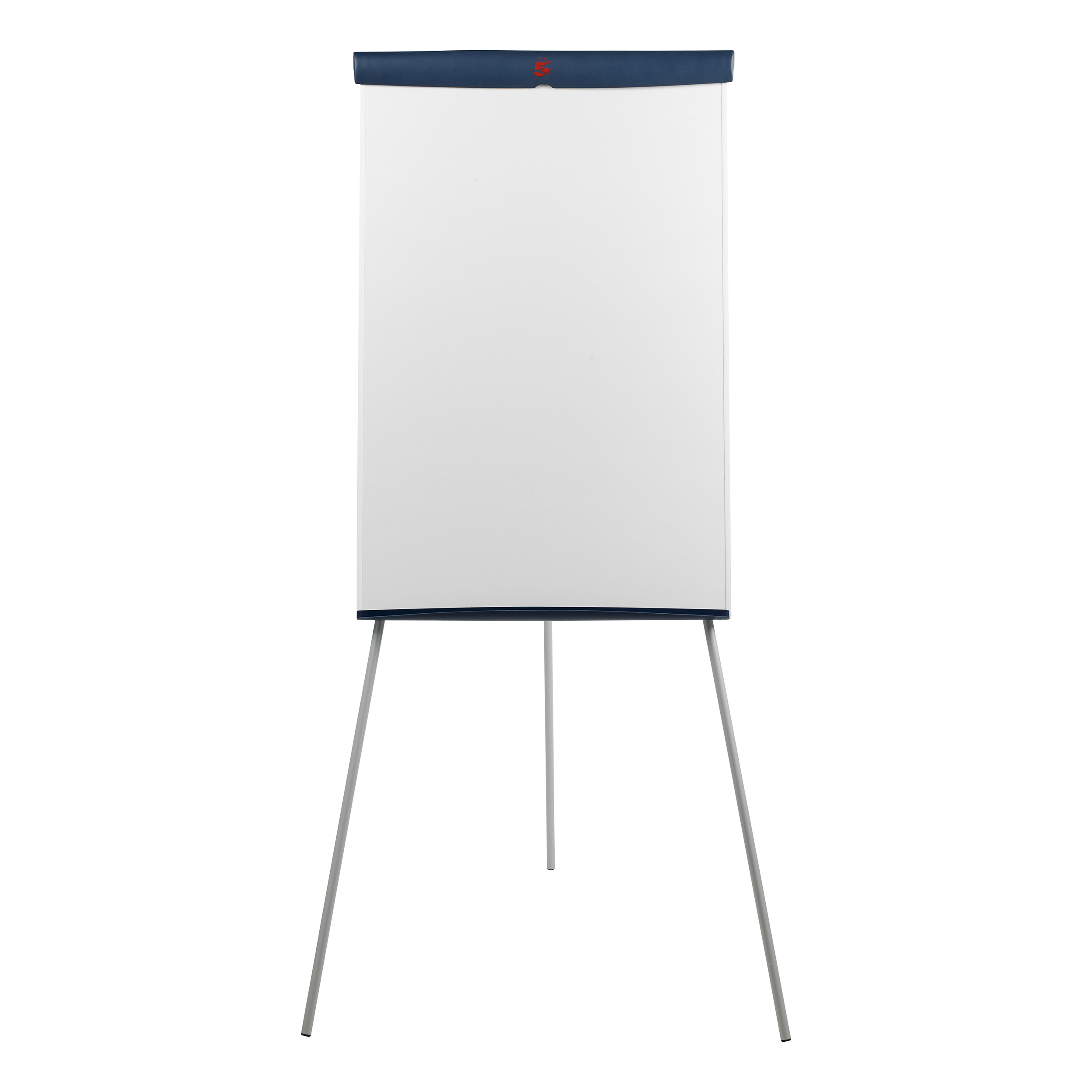 5 Star Flipchart Easel with 670x990mm Board 700x82x1900mm Blue Trim