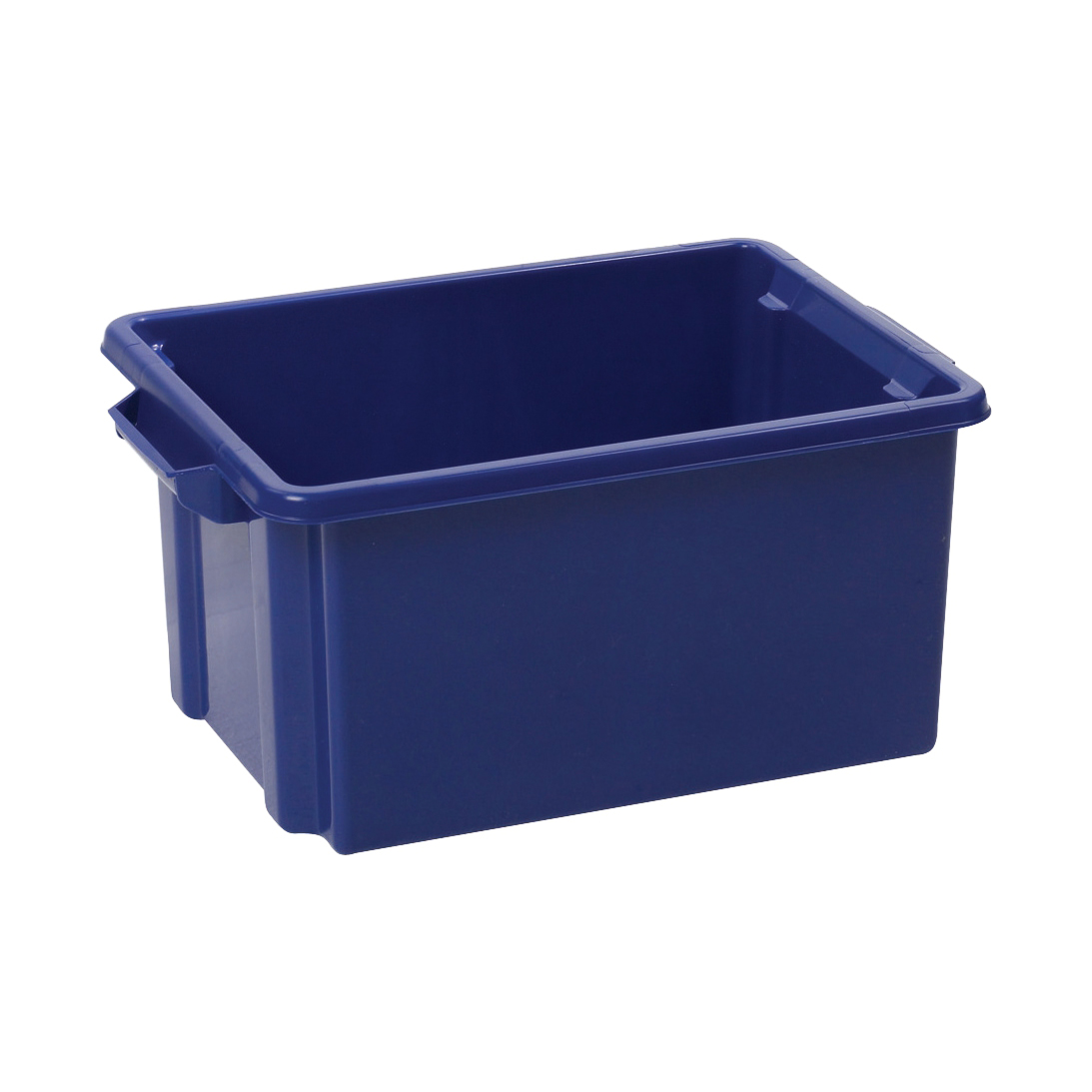 Image for Strata Storemaster Midi Crate External W360xD270xH190mm 14.5 Litres Blue Ref HW44 BU
